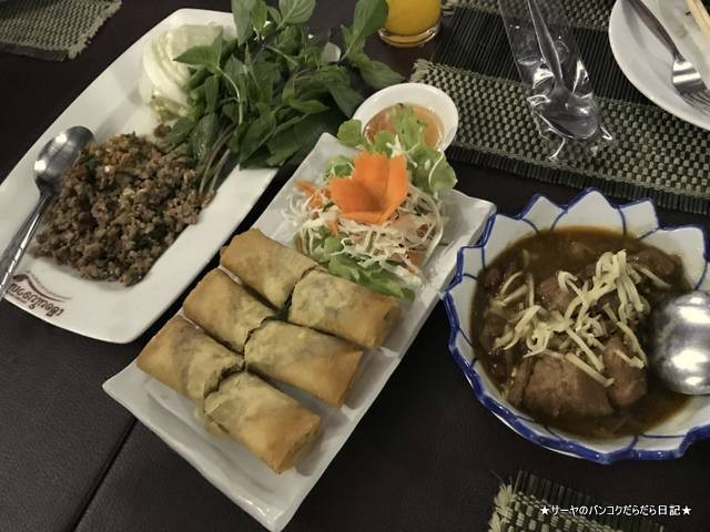 Antique House Chiangmai チェンマイ レストラン (6)