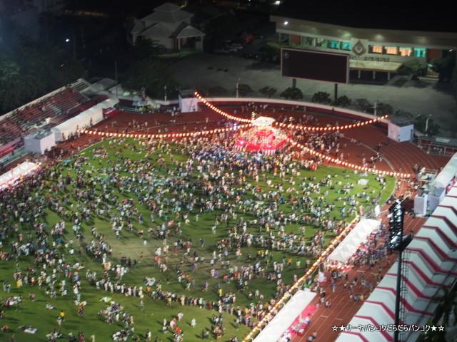 ラムウォン盆踊り大会 2014 バンコク サーヤ