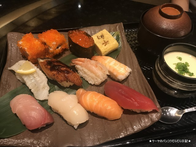 senryo 千両 バンコク 和食 寿司 サーモン トンロー (6)
