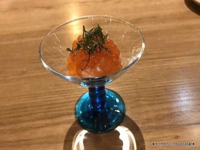 kuriyaroku bangkok 最新和食 バンコク サーモン