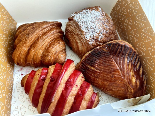 Tiengna Viennoiserie クロワッサン バンコク 人気 (12)