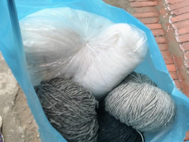 ネパール 土産 毛糸 ヤク パシュミナ