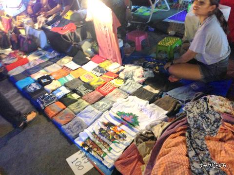 ナイトマーケット バンコク ラーミントラ