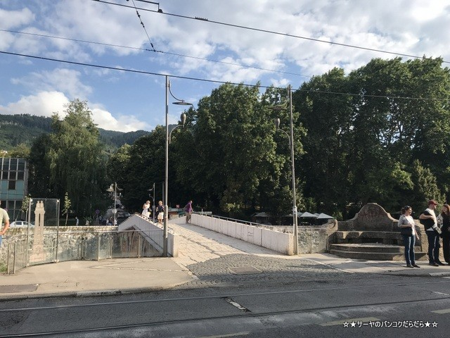 sarajevo sightseen ラテン橋