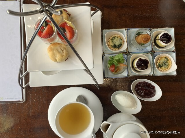 AFTERNOON TEA AT FINISHING POST クラウンプラザバンコク (5)