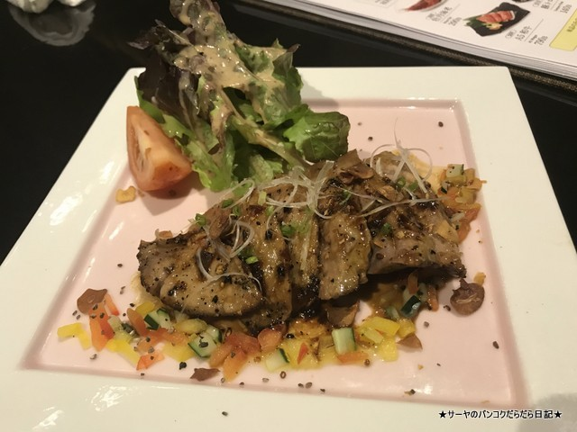 横浜 yokohama bangkok 居酒屋 マグロほろステーキ