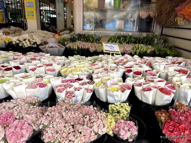 パーク クローン花市場 バンコク flower market (13)