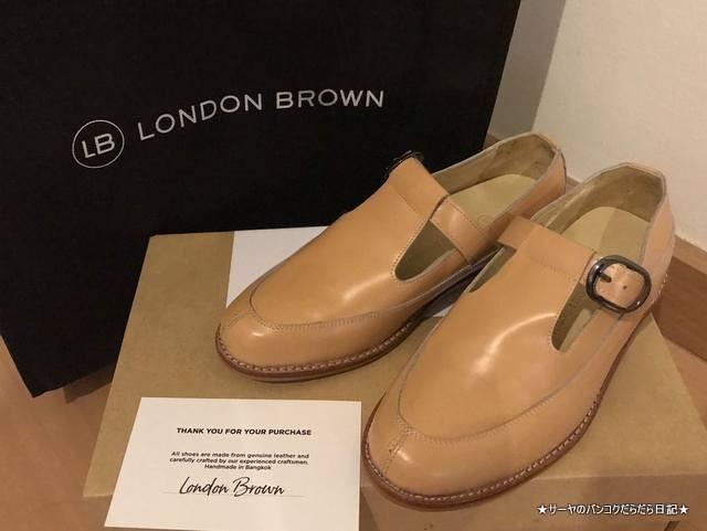 London Brown siam オーダー 靴 かわいい