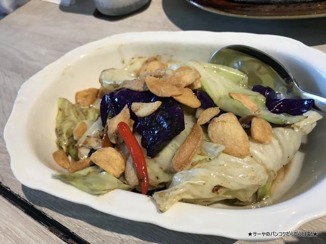 1919 Lhong rongsi seafood bangkok キャベツ