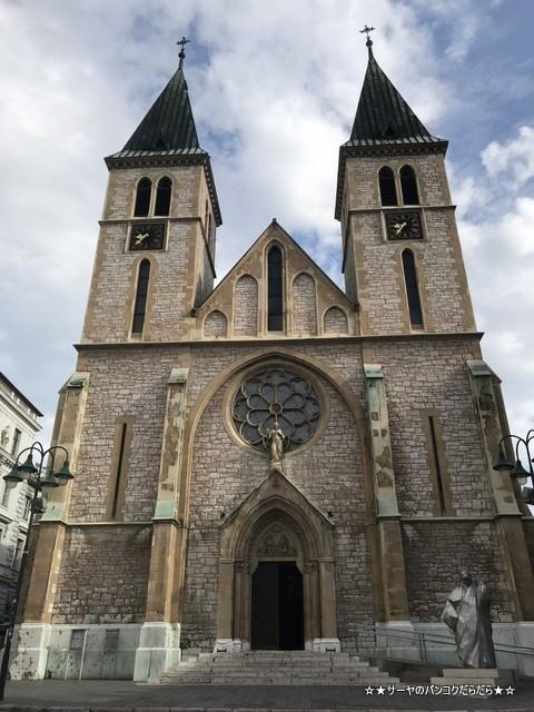 sarajevo sightseen 教会