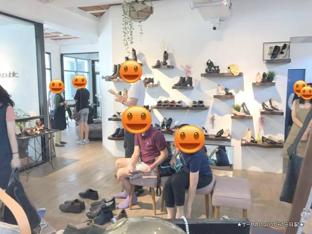 Shoes-Republic bangkok coffee thai beans バンコク おすすめ
