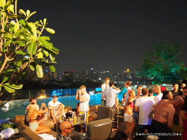 So Pool Party Sofitel ソフィテル バンコク タイ