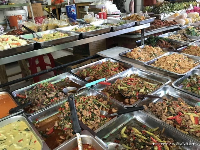 Sri Yan Market バンコクローカル 市場 DUSIT 旧市街 (10)