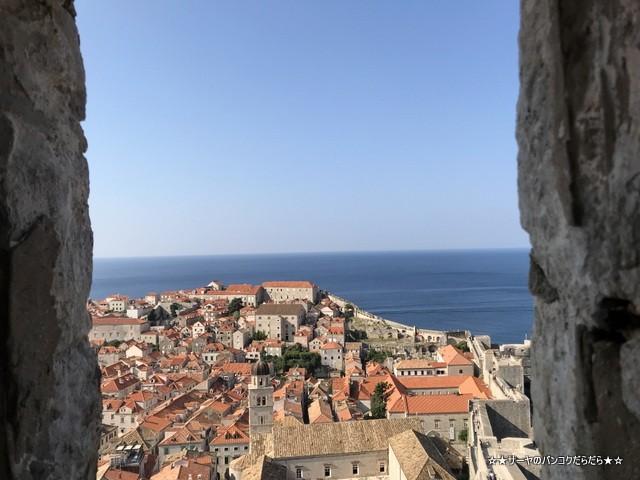 ドブロブニク城壁巡り wall Dubrovnik 魔女の宅急便 (25)