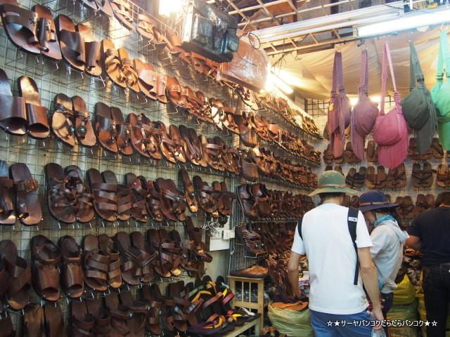 Khon Muang Lung Shop チャトチャック 革 靴 ウィークエンド