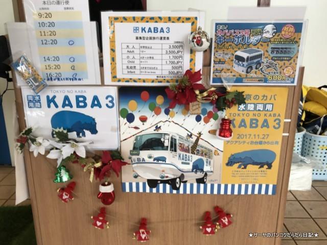 水陸両用バスTOKYO NO KABA hippo BUS (1)