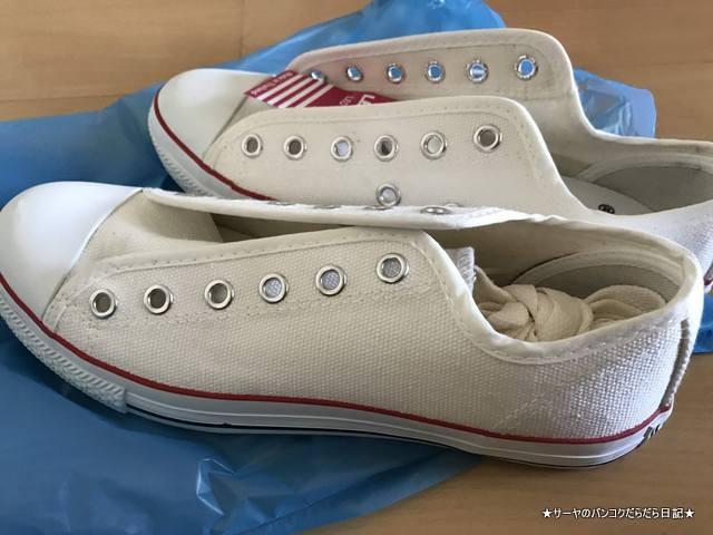 プラカノン市場 靴 バンコク 激安 コンバース風