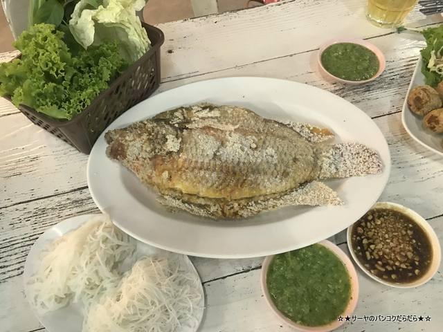 プラーパオソットパッタナカーン タイ料理 バンコク (6)