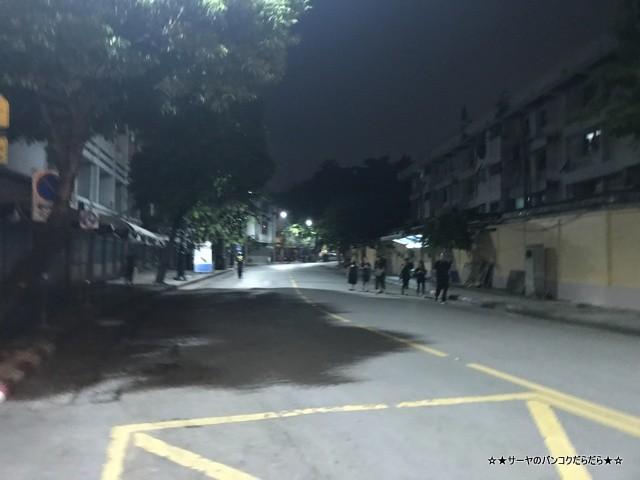 故プミポン前国王火葬式 マハラート通り (1)