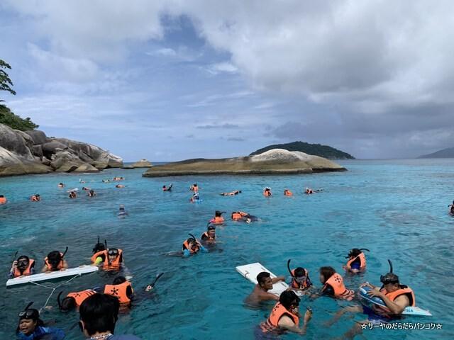 プーケット シミラン諸島ツアー タイ国内旅行 (8)