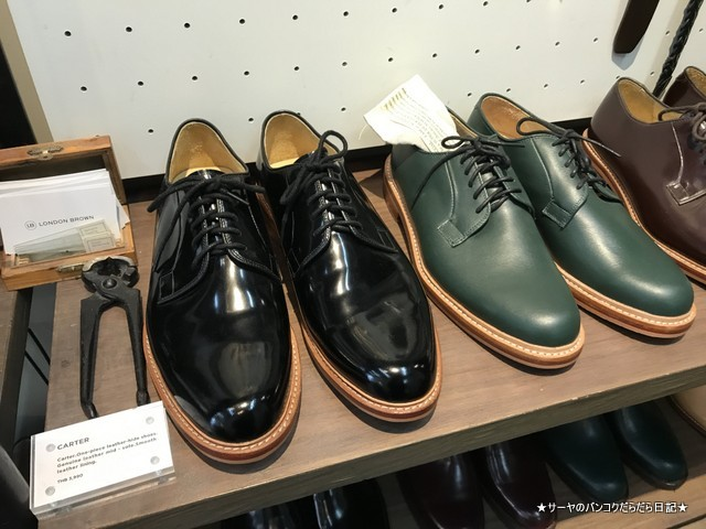 London Brown siam order shoes オーダー 靴 (10)
