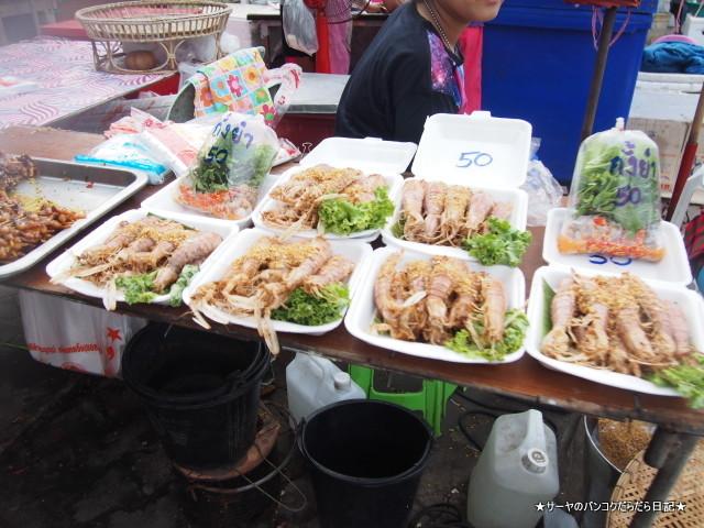 Don Hoi Lot Market ドンホイロート 潮干狩り タイ 釣り