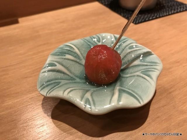 さぶ 貝 和食 カウンター バンコク (11)