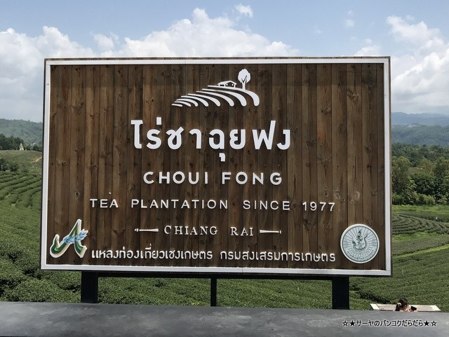 Choui Fong Tea 茶畑 チェンライ (1)