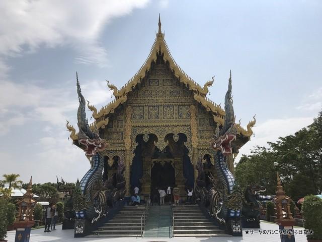 Rong Suea Ten Temple チェンライ 青い寺 (4)