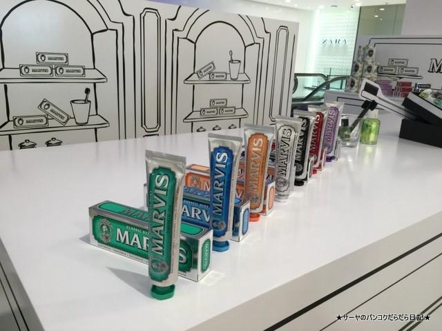 イタリアの歯磨き粉 バンコク 土産 MARVIS