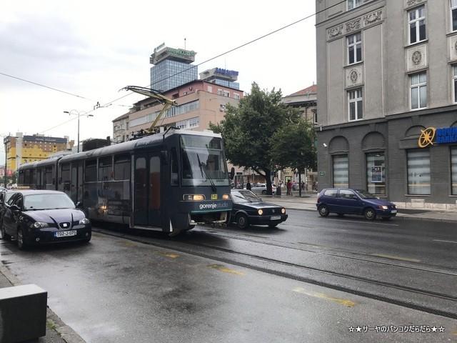 サラエボ市電 sarajevo tram ボスニア (1)