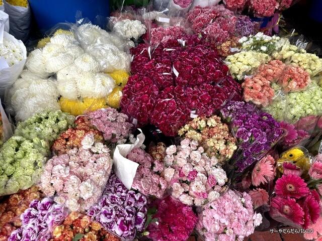 パーク クローン花市場 バンコク flower market (12)