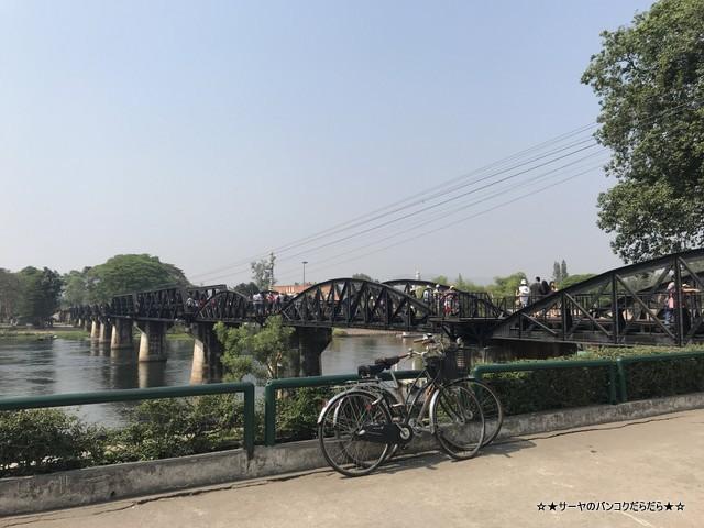 THAMKRA SAE カンチャナブリ 電車 ツアー 戦場にかける橋