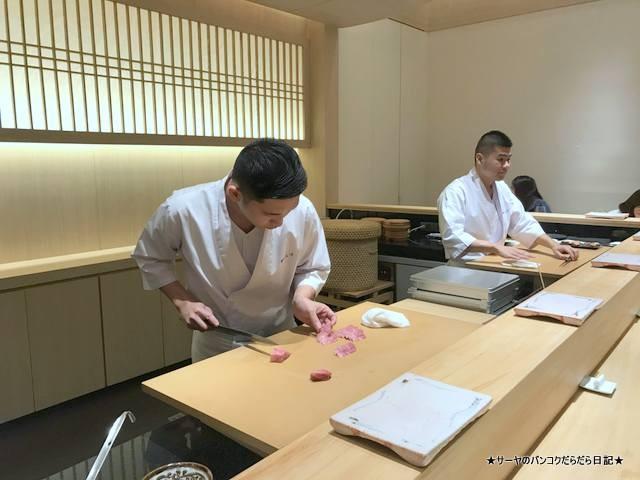 sushi ichizu 鮨いちづ 豪華 バンコク 美味 (8)
