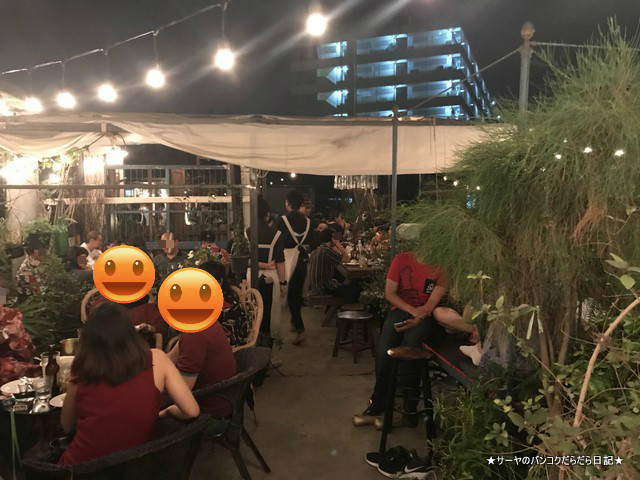 Oneday wallflowers rooftop chinatown new 店内