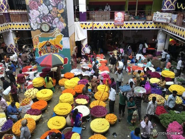 バンガロール KRマーケット 市場 インド (12)