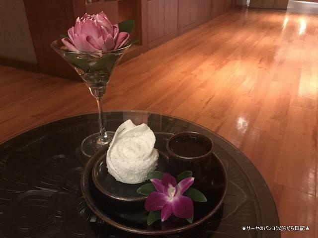 conrad seasons spa コンラッドホテル バンコク おしぼり