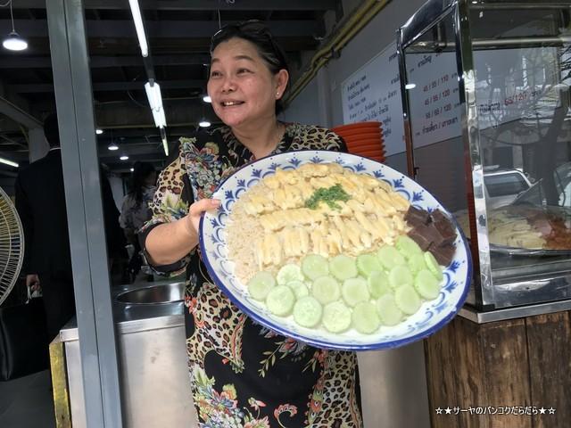 jambo chiken rice ジャンボ カオマンガイ バンコク オーナーさん