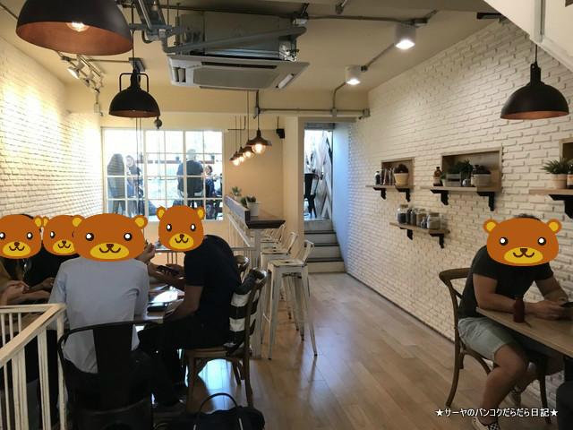 Brekkie Organic Cafe bangkok Sukhumvit 店内