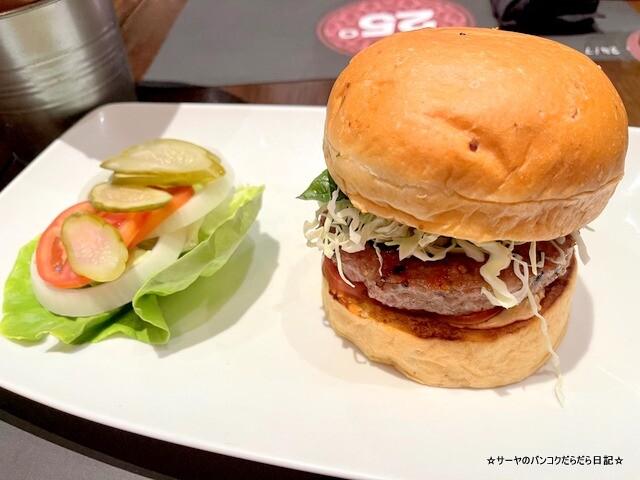 25 Degrees Burger Bar バンコク バーガー (8)
