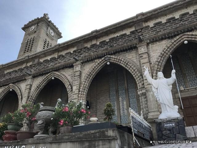 ニャチャン大聖堂  Nha Tho Nui nhatrang ベトナム (9)