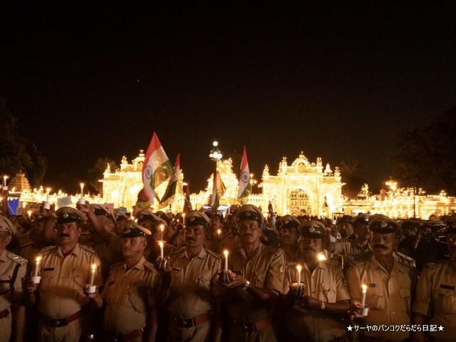 マイソールパレス 夜 ライトアップ 絶景 おすすめ インド (2)