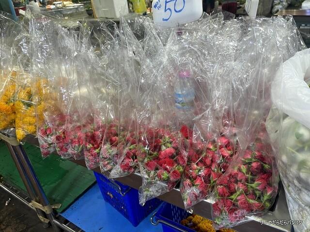 パーク クローン花市場 バンコク flower market (10)
