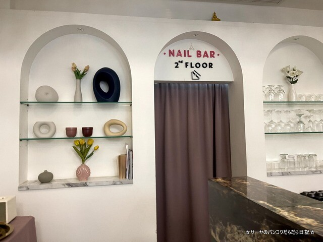 The Triplets Cafe X Nail Bar バンコク (4)