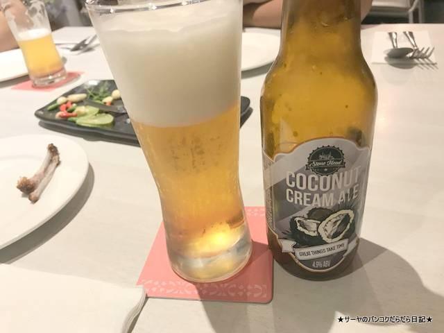 Klangsuan Restaurant 南タイ料理 バンコク ココナッツビール