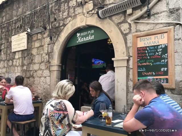 Irish pub Karaka カラカ ビール ドゥブロブニク (2)