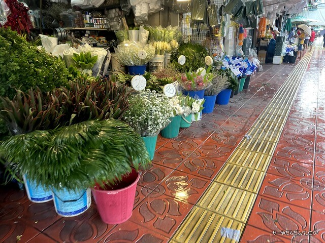 パーク クローン花市場 バンコク flower market (4)