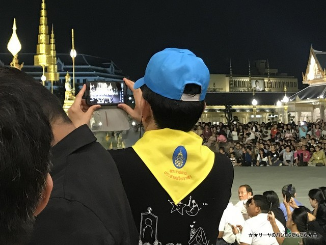 火葬場見学 プミポン国王 王宮前広場 (24)