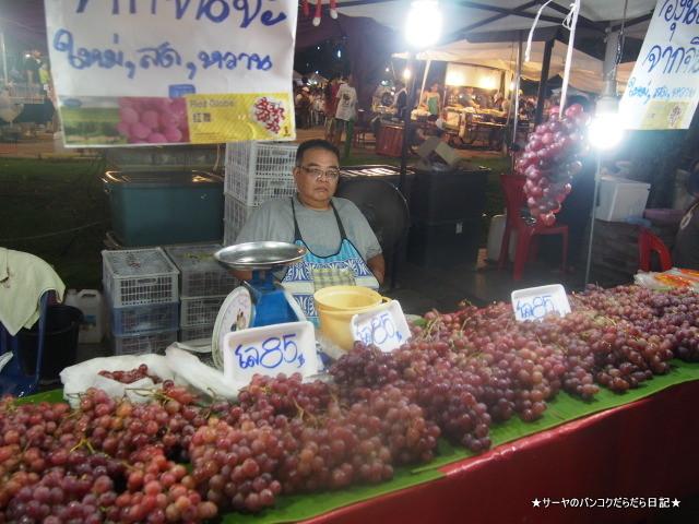 Thanalai Road night market chiang rai