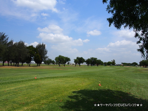 Kantarat Golf Course 滑走路 ゴルフ ドンムアン空港